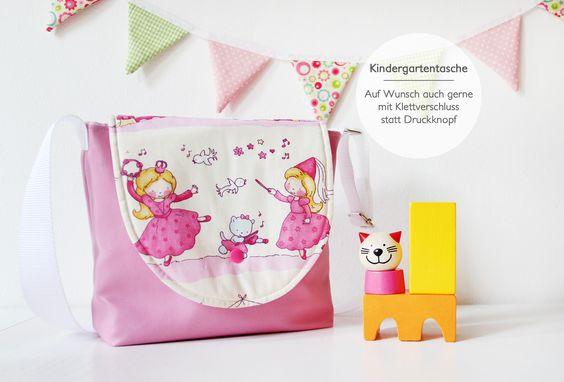 Kindergartentasche mit Prinzessinnen <3