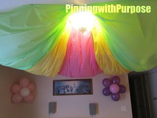 Simple and cute decorations for Madi's Party