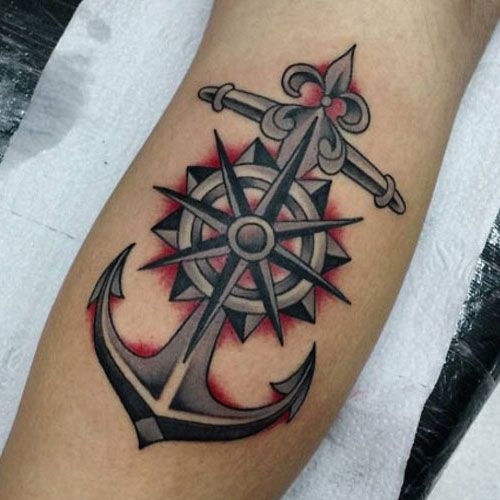 125 Best Compass Tattoos For Men Cool Design Ideas 2020 Wrist Tattoos For Guys Compass Tattoo Men Tattoos For Guys