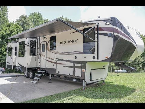 2017 Heartland Bighorn 3970rd Luxury 5th Wheel 5 Slides