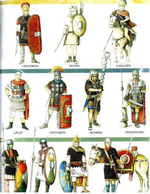 Roman Army Evolution Part 1 by Fall3NAiRBoRnE: