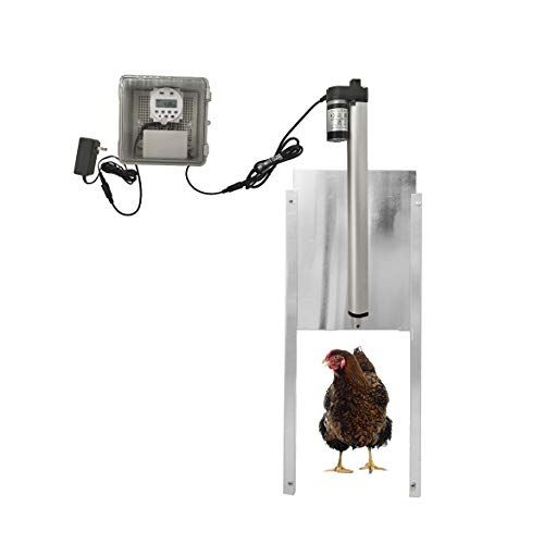 Jvr Automatic Chicken Coop Door Opener Kit Timer Control Backyard Chickens Chicken Coop Chickens R Automatic Chicken Coop Door Chicken Coop Chickens Backyard
