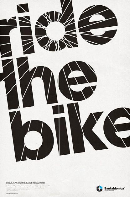 Ride the bike by Mark Brooks
