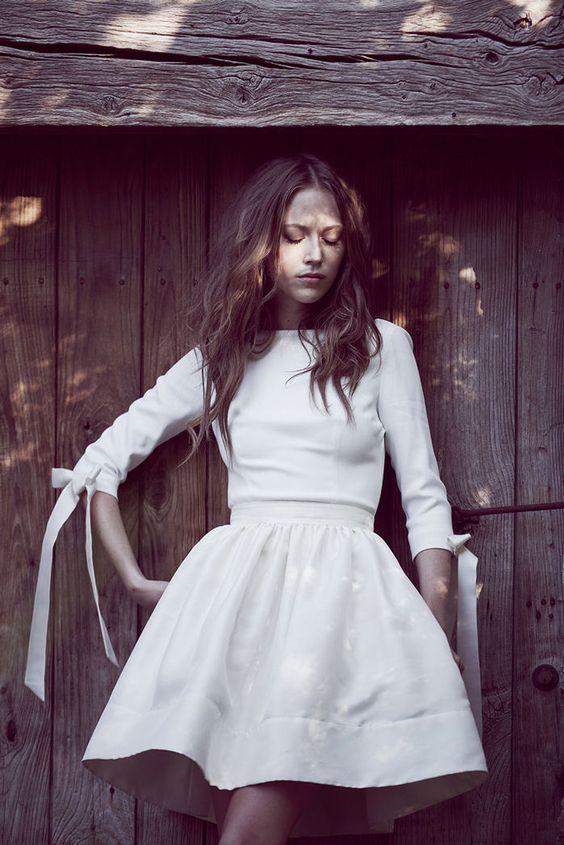 Delphine Manivet Top Cyrus et jupe courte Yves