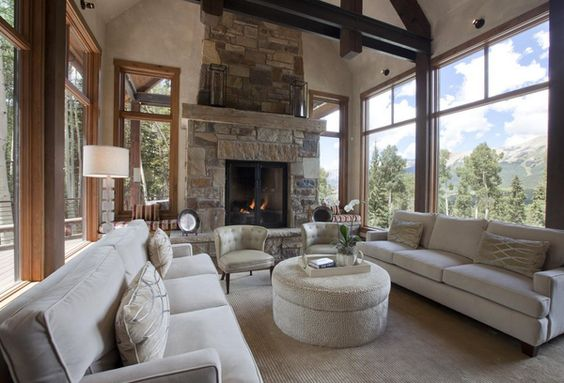 This cozy seating area was designed by L. Pearson Design. | See more: https://luxesource.com/resources/l-pearson-design?utm_source=pinterest. | #luxeHouston