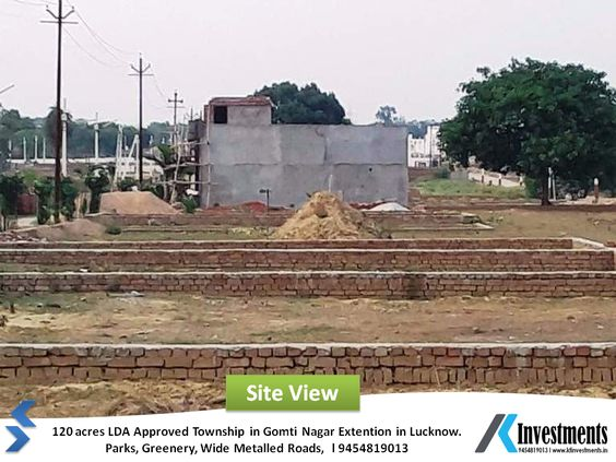 lda approved residential plots in lucknow