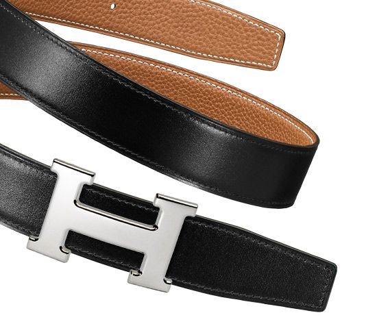 hermes blue birkin - Belt kit 32 mm Hermes 32 mm men's leather strap in Black/Gold Box ...