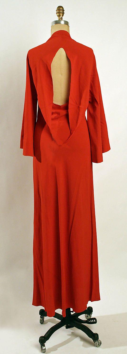 Dress, Evening - Madeleine Vionnet 1936