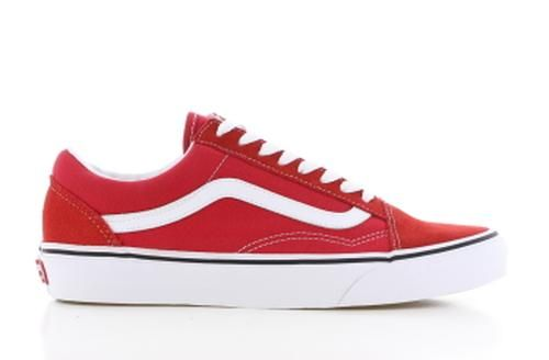 Old Skool Racing Rood Dames | Rood, Sneaker, Suede