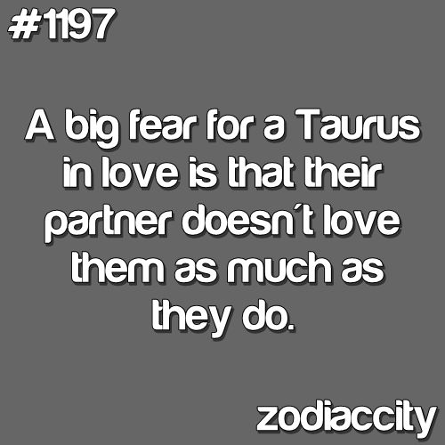 Yes because NO other starsign has that fear. BULLSHIT *cough*