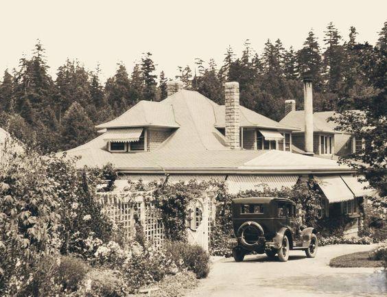 The Butchart family residence at The Butchart Gardens, circa 1920s