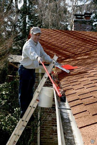 Gutter cleaning - http://www.clearmagic.co.uk