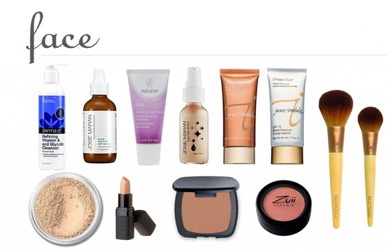 natural beauty products for the face