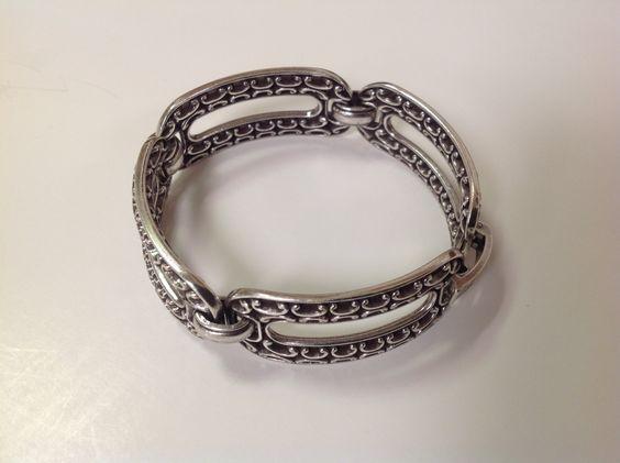 Vintage Brighton Link Bracelet by GrandmaRietas on Etsy