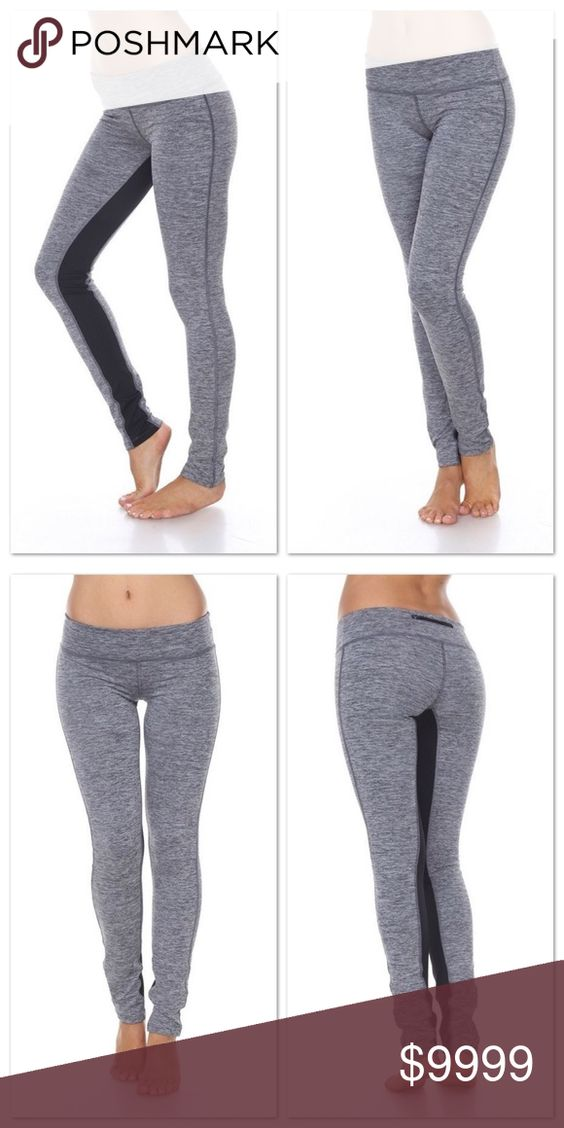 Yoga Pants🏋 COMING SOON‼️ Start of your New Years resolution in style! Cute and comfy. Two tone yoga pants. Four way stretch with breathable compression fabric. Pocket in waistband with stylish zipper. 87% Poly 13% Spandex Pants Leggings