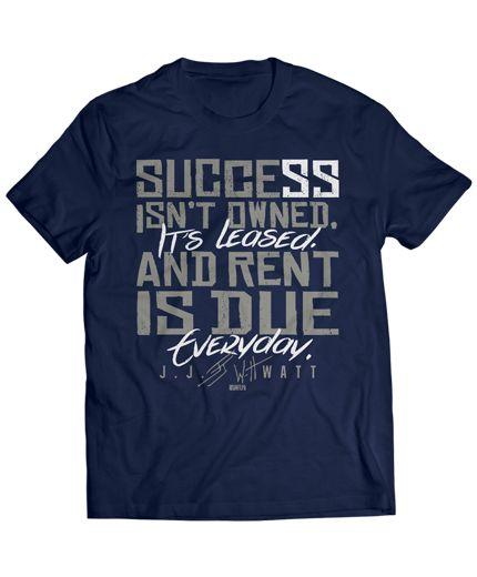 JJ Watt knows how hard work translates into success.>>>someone buy me this pleeeeease