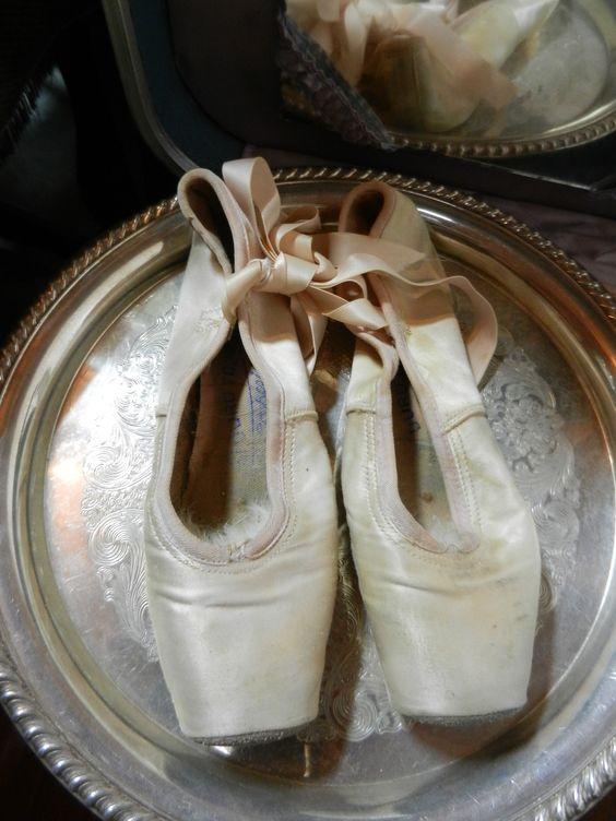Vintage Ballet Slippers  $25.00