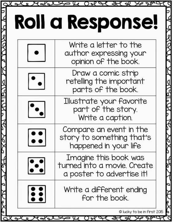 reading comprehension and response to literature Constructed response items: reading grade 6 (1) brief constructed response sample: read the article 'persistence' and answer the following question.