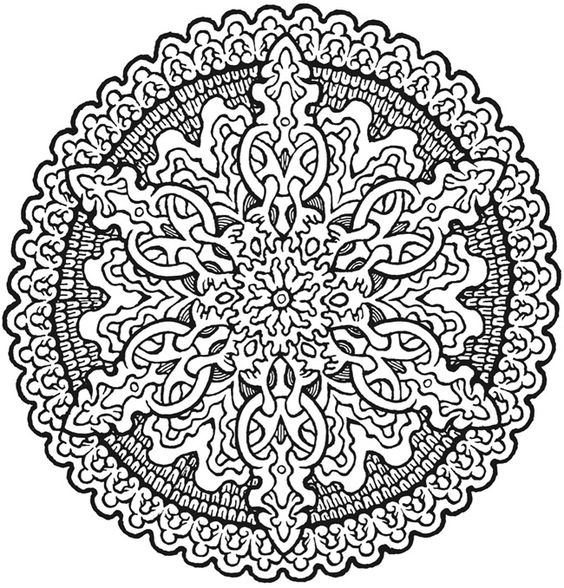 More Mystical Mandalas Coloring Book By The Illustrator Mystical Mandala Coloring Pages