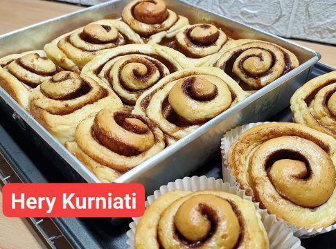 Resep Roti Cinnamon Roll By Hery Kurniati Langsungenak Com Resep Di 2020 Kue Gulung Roti Cinnamon Roll Cinnamon Roll
