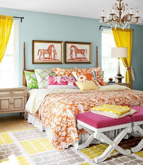 What A Bright Beautiful Equestrian Bedroom Equestrian Decor Pinterest B