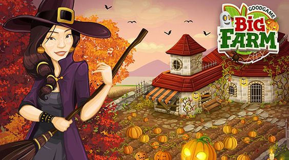BigFarm Ftez Halloween chez Goodgame Big Farm