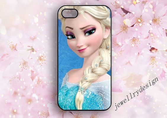 Frozen iphone 5s caseElsa Anna Sven Olaf iphone by jewellrydesign, $9.99