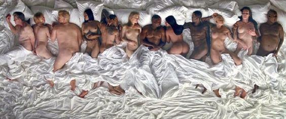 """""""Esse Kanye é maluco! Talentoso, mas louco"""", diz Chris Brown sobre o clipe de"""