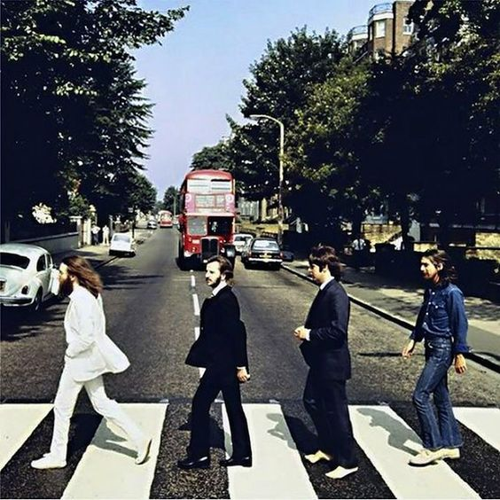 Rare Shots of the Beatles Abbey Road Cover Photo Session (10 Pictures)