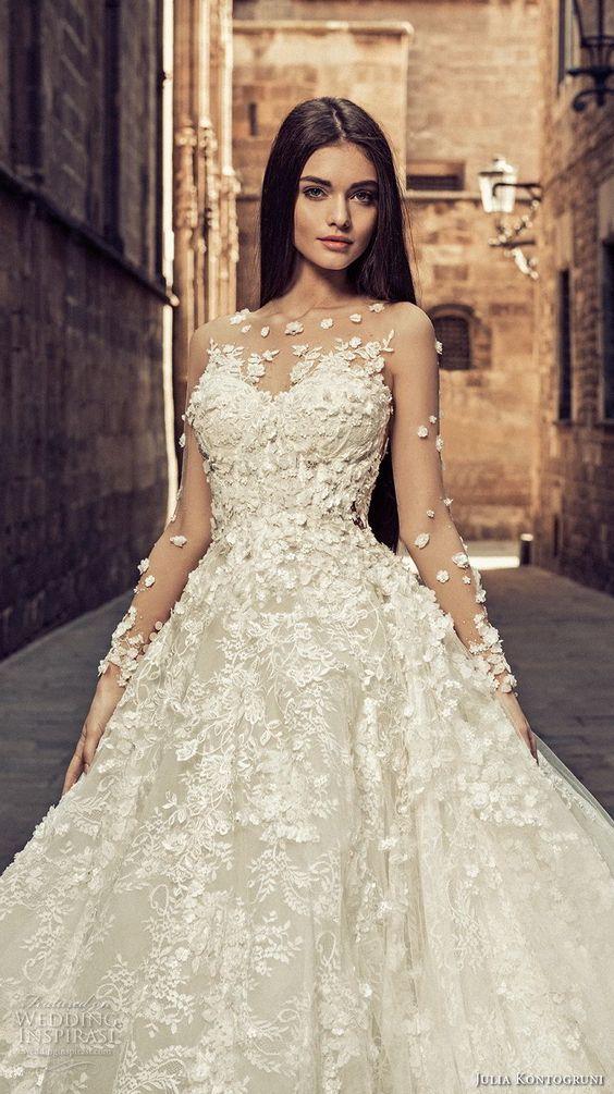 "Julia Kontogruni 2018 Wedding Dresses — ""Barcelona"" Bridal Collection"