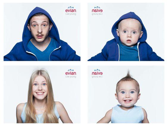 Evian cria aplicativo que transforma sua imagem em uma versão bebê
