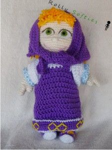 Amigurumi Free Pattern Italiano : [Bambola NIN] Masha mod Patterns, Amigurumi and English