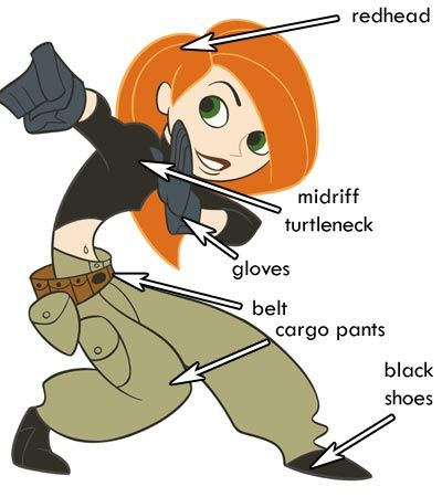 Calling all 90s kids: who wants to dress up as Kim Possible or Ron Stoppable? :D