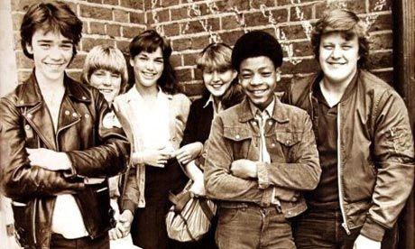 Grange Hill: the show's original cast from 1978. Photograph: BBC