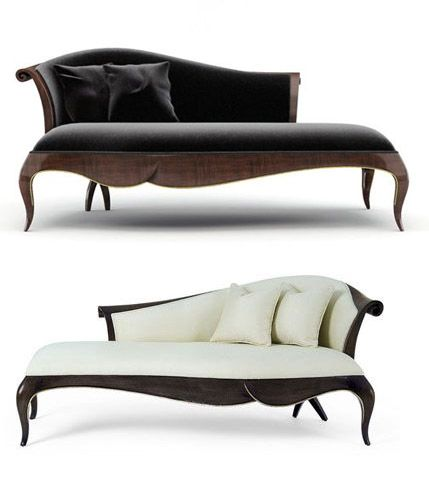 Christopher Guy Fainting Couch Modern Design Couch