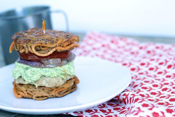 Tomato, Onion and Avocado-Goat Cheese Spread   burgers & sandwiches ...