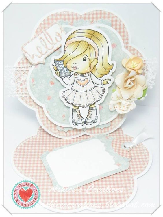 La-La Land Crafts Inspiration and Tutorial Blog: Club La-La Land Crafts SEPTEMBER 2015 Club Kit Showcase - Week 1