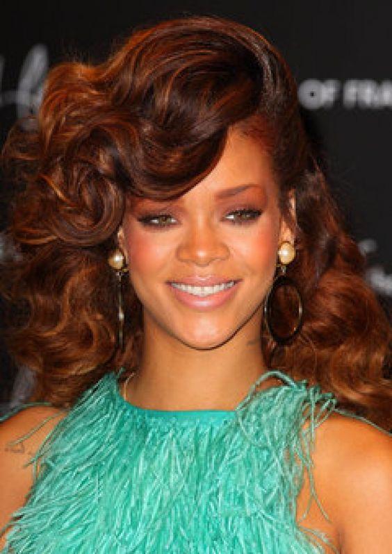 Marvelous Black Women Hair Color And Auburn Brown Hair Color On Pinterest Short Hairstyles Gunalazisus