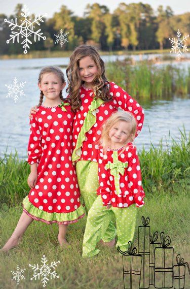 Holiday Wonderland Nightgown 2 to 6 Years Now in Stock at Cassie's ...