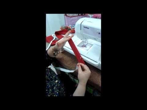 Aprenda a fazer uma Faixa Turbante   Cantinho do Video