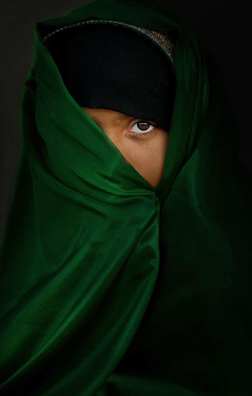 Eye In Green  by Ali AlGhafri