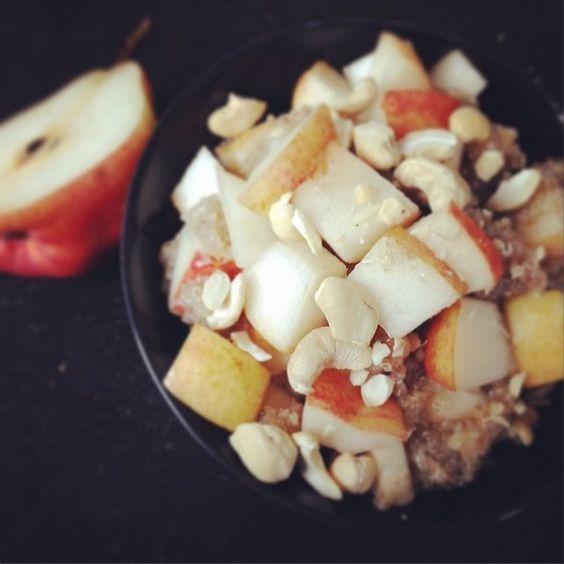 Nutty quinoa porridge © Hanna Stolt |Gurmee.net