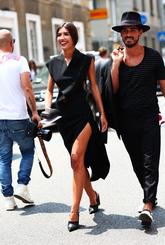 just does not stop being stunning. #PatriciaManfield & #GiottoCalendoli owning it in Milan.