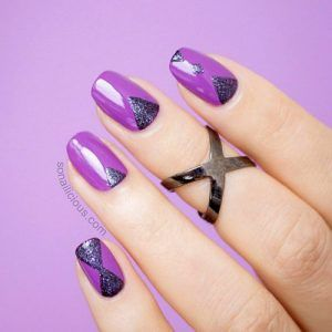 21 Insanely Hot Purple Nails Designs Trending Right Now My Stylish Zoo Nail Nails Nailart Nailpolish Purple Nail Art Purple Nail Art Designs Purple Nails