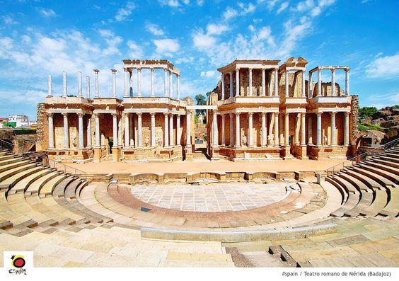 Teatro romano de mérida #spain #mérida  #theatre #lorca