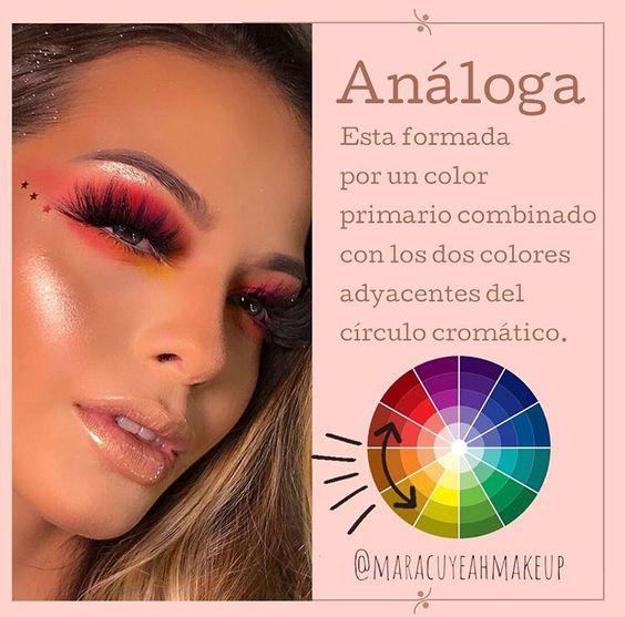Pin De Maria Yagual En Maquillaje Circulo Cromatico Maquillaje De Rostro Tips De Maquillaje
