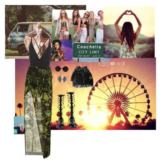 """Desert festival"" by sarah-ssc on Polyvore featuring moda, Proenza Schouler, Helmut Lang, Raye, Accessorize, Lulu Frost y Diane Von Furstenberg"