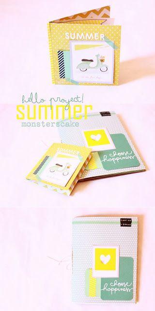 Monsters Cake: Proyecto: Cartas de Verano. SEPTIEMBRE (lo enviado)
