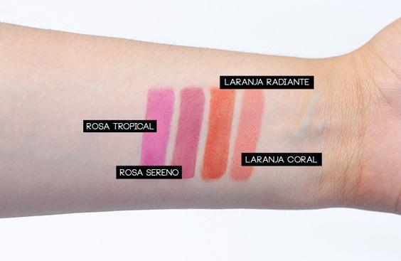 COLEÇÃO PARADISE PANVEL MAKE UP | http://www.baguncadecloset.com/colecao-paradise-panvel-make-up/