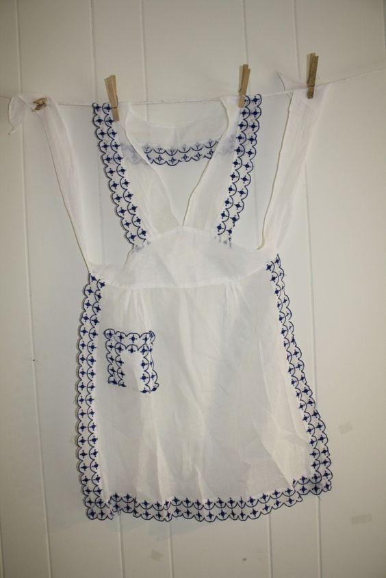 $9.99 vintage apron ebay